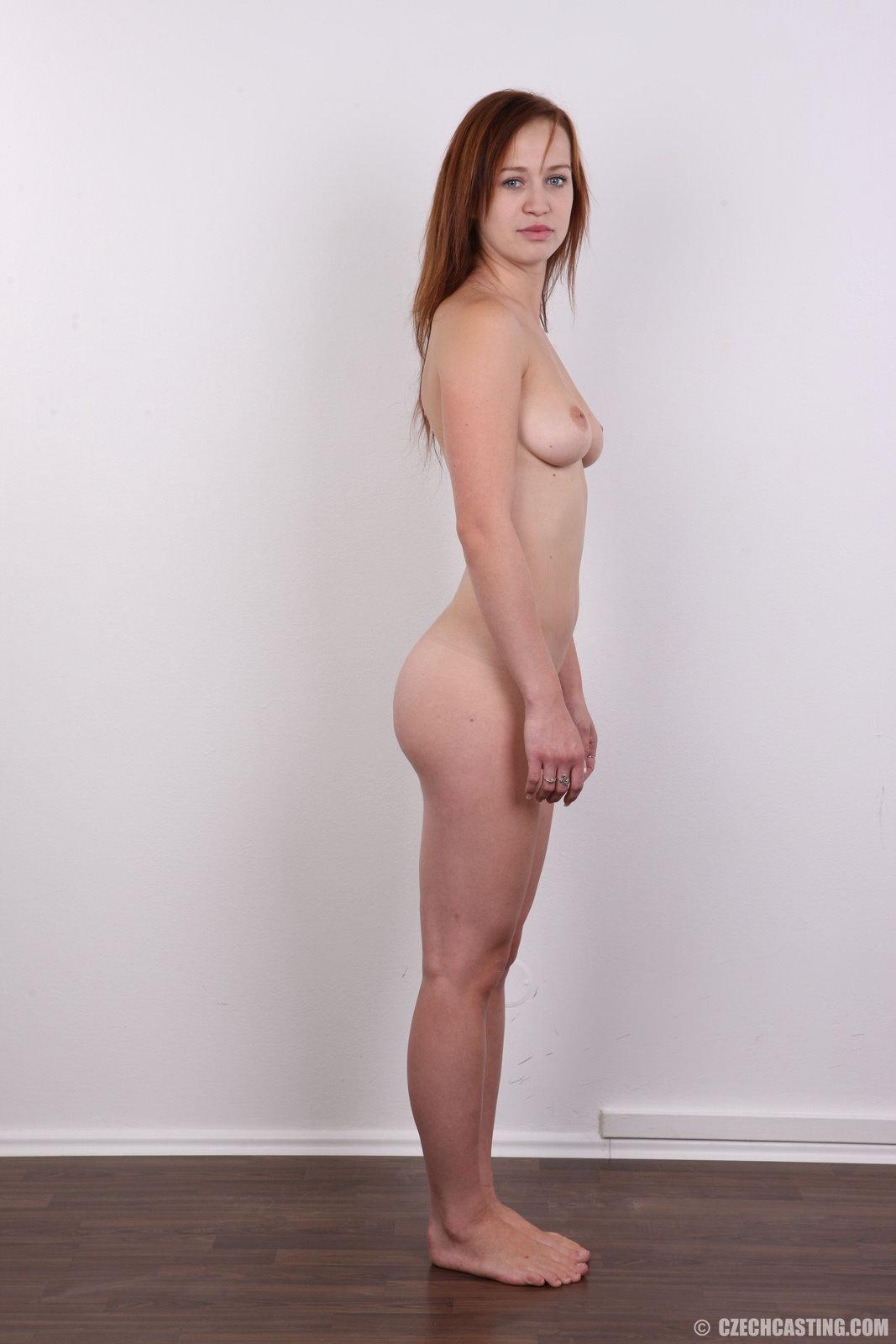 Czech girl tries porn