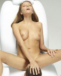 Clover oral sex at Hegre Art