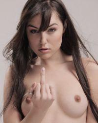 Meet sexy petite brunette pornstar Sasha Grey